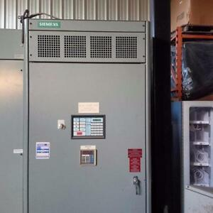 Siemens 250 HP VFD (Variable Frequency Drive), 600 Volt, 3PH