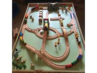 Brio Train Set with lifting bridge, tunnel with sound effects, loads of trains and extras!