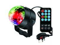 Disco Lights Glitter Ball LED Sound Actived 7 Colors
