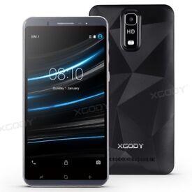 "Cheap Unlocked 6.0"" Android 5.1 Smart Mobile Quad Core Dual SIM WiFi GPS Phone"