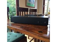 Arcam P75 power amp. remote, instructions, power lead and box -VGC