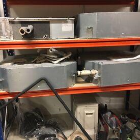 3 Aircon units and 3 condencers