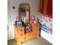 Chest drawers / Vanity Mirror / Dresser