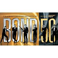 Bond 50: The Complete 23-Film Collection with Skyfall [Blu-ray]