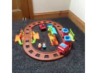 Happyland village. Train set from early learning centre