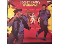 Kool & the Gang Emerency vinyl record