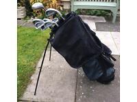 Set Golf Clubs! With Bag