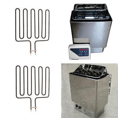 2PCS 2670W Sauna Unit Heating Element for SCA Sauna Heater Spa Stove Spas