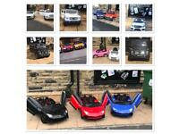 Open Weekend 12 To 8, Large Selection Of Kids Ride-On Cars,Parental Remote & Self Drive