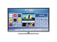 "TOSHIBA 48"" Smart Tv, wifi , YouTube As good as new"