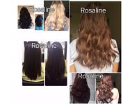 £150 full head micro rings, 100% human hair mobile service