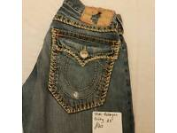 True religion jeans stitched