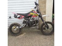 brace of pit bikes ! for £500.00