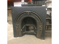 Victorian cast iron fire surround