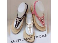 Cc chanel sandals can deliv local or post