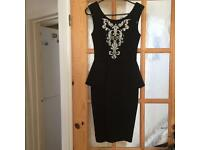 BRAND NEW WITH TAGS black LIPSY DRESS