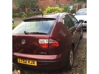 52 seat Leon, 7 months mot, 4 good tyres,well maintained a good runner never let me down.