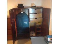 Vintage Gentleman's Wardrobe / Dresser