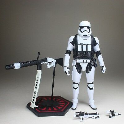 "Star Wars Black Series Last Jedi Frist Order Stormtrooper Heavy Gunner 6"" Figure"