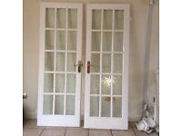 Various white interior doors