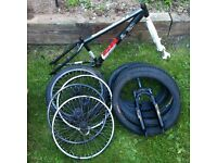 Jump bike, MTB, BMX parts / Joblot