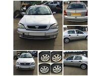 Vauxhall Astra Club Auto 2001 1.6 Petrol Silver 5 Door (Front Bumper) All Parts Available