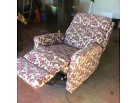Riser/ Recliner armchair