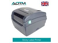 AOTM Professional Ribbon, Label and Barcode Printer TSC TTP-244CE for EPOS POS System (TTP-244CE)