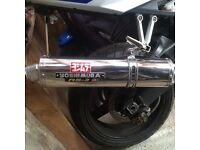 Yoshimura exhaust Gsxr 600 k4 and others