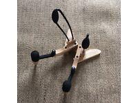Electric guitar/bass wooden Kinsman foldable stand