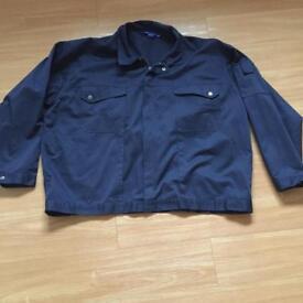 Navy blue jacket size 4xl *new*