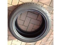Falcon car tyre very good condition