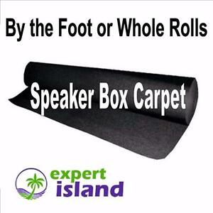 Speaker Box / Cabinet Audio Carpet, Trunkliner Carpet - Charcoal Grey