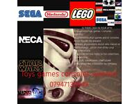 Vintage toys games / consoles wanted lego etc
