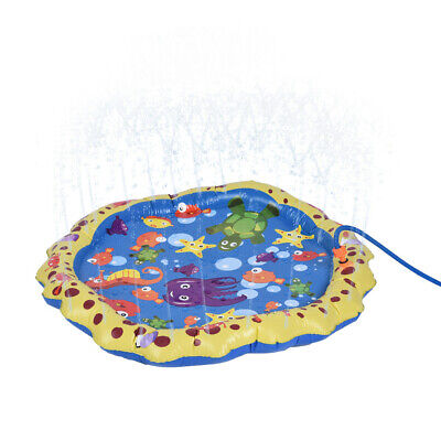 Water Toys Fun For Children Toddlers Kids Outdoor Party Sprinkler Splash Pad](Outdoor Water Toys For Kids)