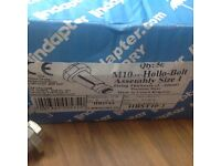 M10 Stainless Steel Hollo Bolts X 50No.