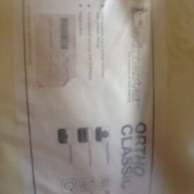Brand new small double 4x6 Ortho classic mattress