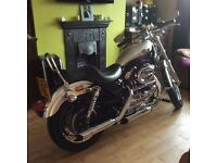 Harley Davidson XL Custom 1200. Mint condition.