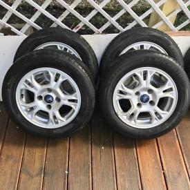 Ford Fiesta Wheels & Tyres