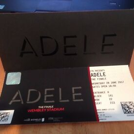 Adele ticket- 28 june, Wembley 1 ticket superb seat only £120