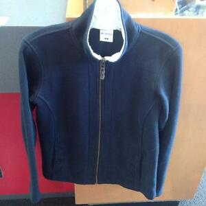 Columbia Fleece Jacket - full zip - small - black (sku: 25Q47S)