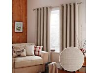 Brand New Dunelm Thermal Eyelet Curtains in original sealed packaging