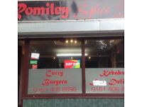 ROMILEY SPICE- INDIAN TAKEAWAY FOR SALE