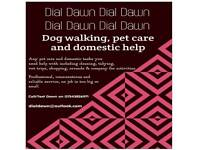 Dial Dawn domestic help and pet care