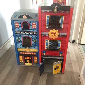 Kids fire station