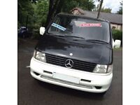 HI SPEC FUNKY STYLISH MERCEDES BENZ VITO 110 CDI DAY FESTIVAL SURF BUS/CAMPER /SIX SEATER/ VW T4/T5