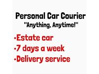 Personal courier available