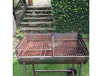Old Charcoal BBQ Heavy Duty on Wheels Coulsdon near Croydon