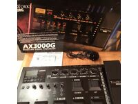 Korg AX3000g Multi Effects Pedal Board