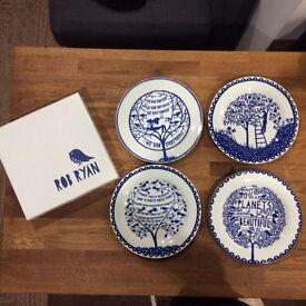 Rob Ryan set of plates